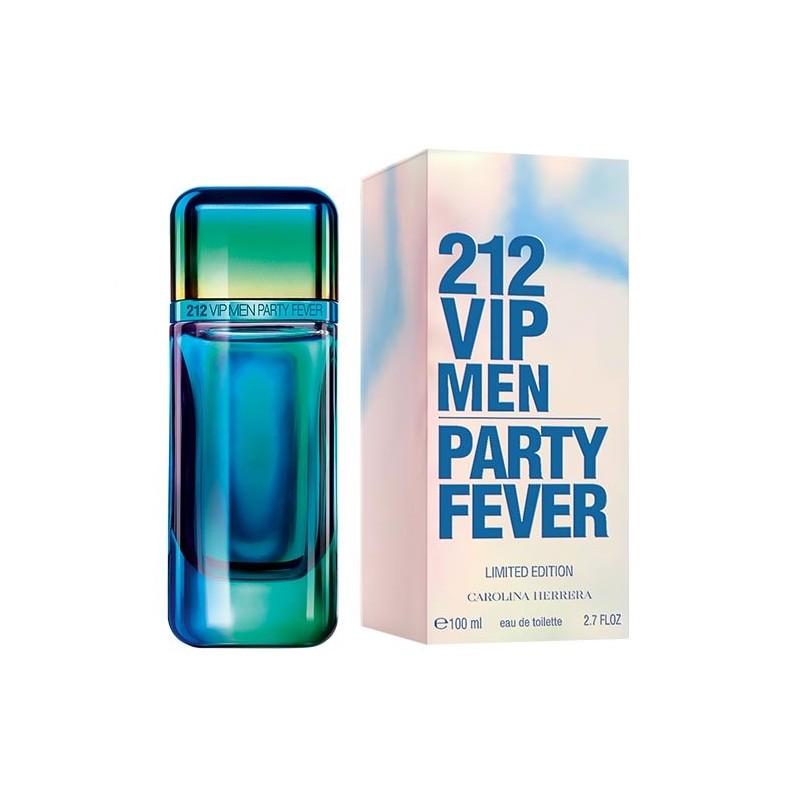 Perfume Carolina Herrera 212 Vip Men Party Fever Lim Edit