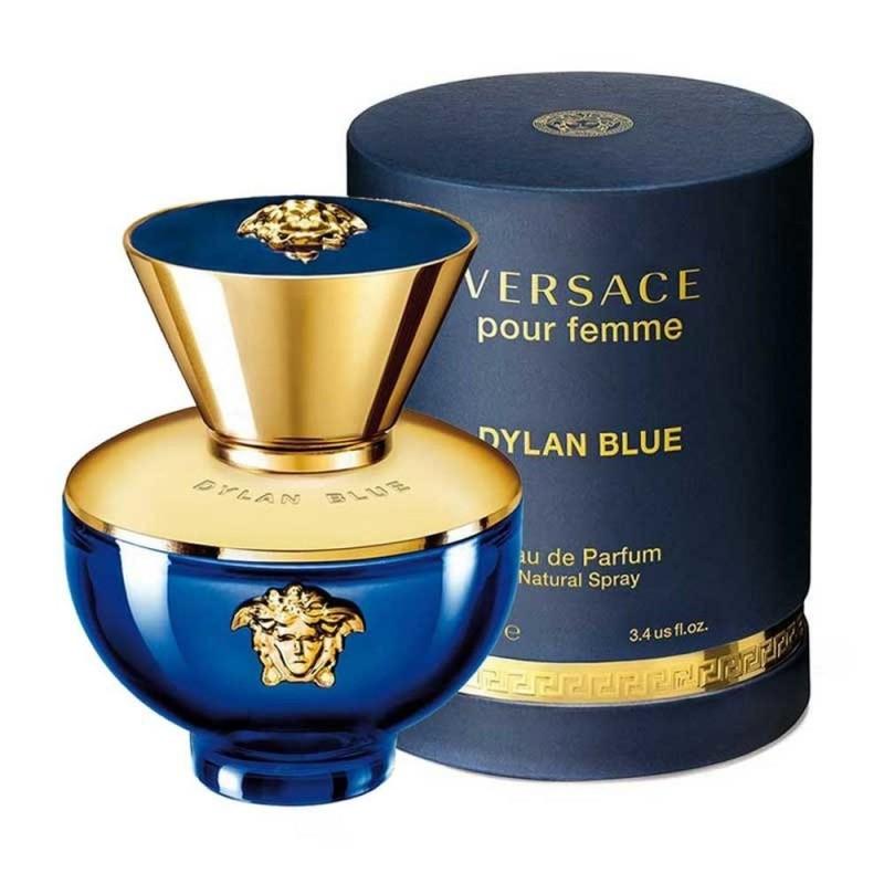 PERFUME DYLAN BLUE POUR FEMME - REGULAR - 100 ML - EDP - DE VERSACE - DREAMSPARFUMS.CL