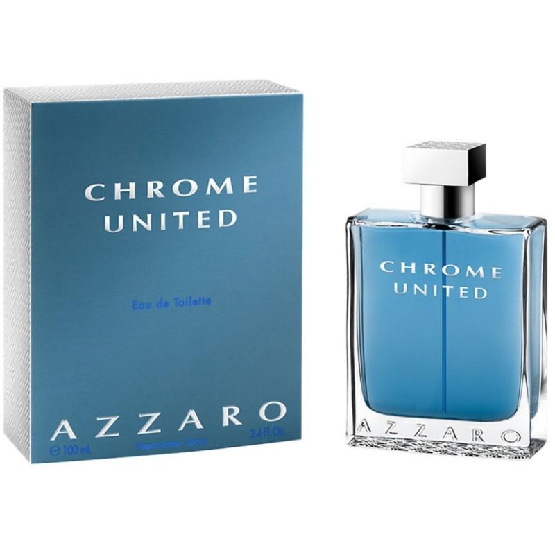 PERFUME CHROME UNITED - REGULAR - 100 ML - EDT - DE AZZARO - DREAMSPARFUMS.CL