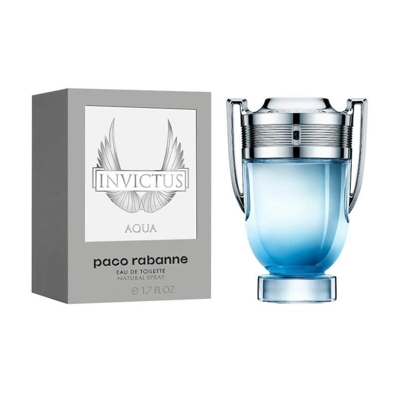 PERFUME INVICTUS AQUA - REGULAR - 100 ML - EDT - DE PACO RABANNE - DREAMSPARFUMS.CL