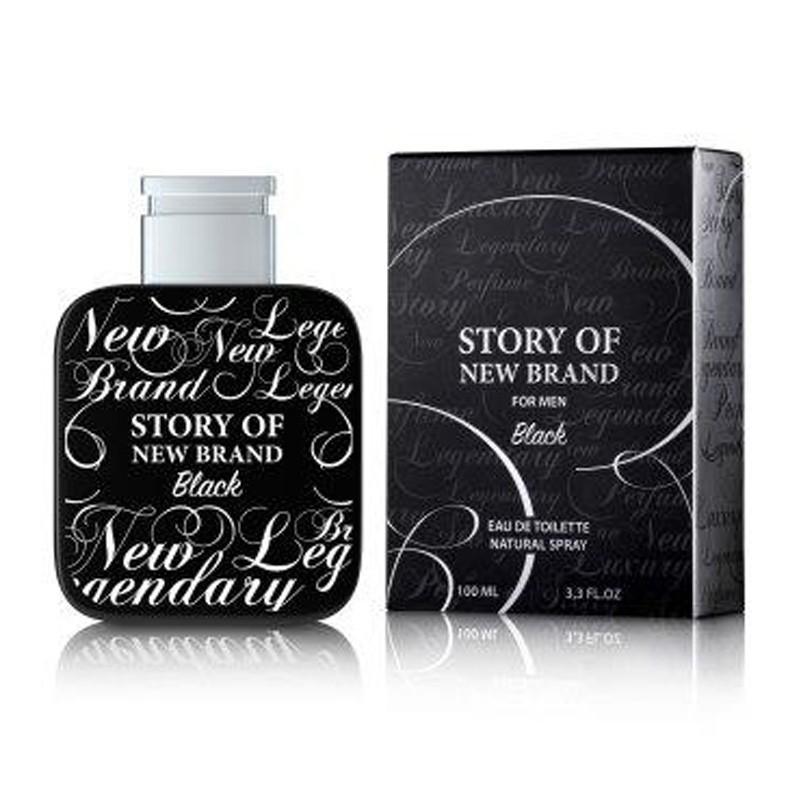 PERFUME STORY OF NEW BRAND BLACK - REGULAR - 100 ML - EDT - DE NEW BRAND - DREAMSPARFUMS.CL