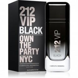 PERFUME 212 VIP MEN BLACK - REGULAR - 200 ML - EDP - DE CAROLINA HERRERA - DREAMSPARFUMS.CL