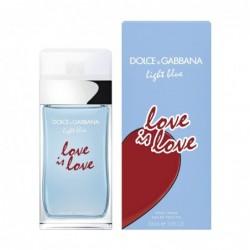 D&G LIGHT BLUE LOVE IS LOVE...