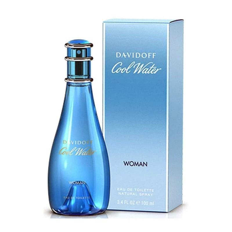 PERFUME COOL WATER WOMEN - REGULAR - 100 ML - EDT - DE DAVIDOFF - DREAMSPARFUMS.CL