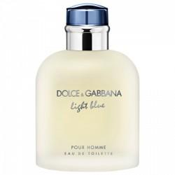 PERFUME D&G LIGTH BLUE POUR HOMME - TESTER - 125 ML - EDT - DE DOLCE & GABBANA - DREAMSPARFUMS.CL