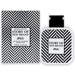 PERFUME STORY OF NEW BRAND WHITE - REGULAR - 100 ML - EDT - DE NEW BRAND - DREAMSPARFUMS.CL